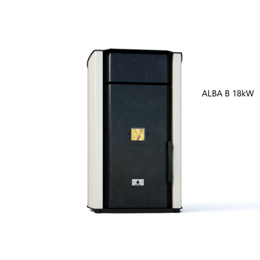 Пелетен котел с водна риза ALBA 18 kW