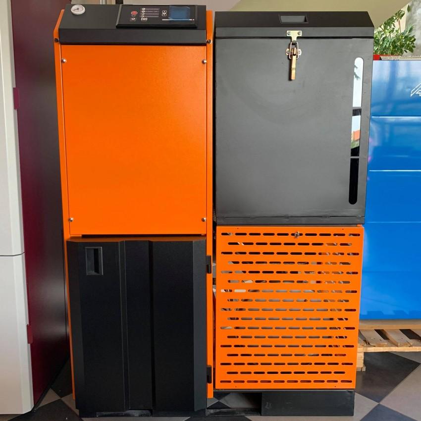 Високоефективен автоматичен котел на пелети Pell Max 25kW