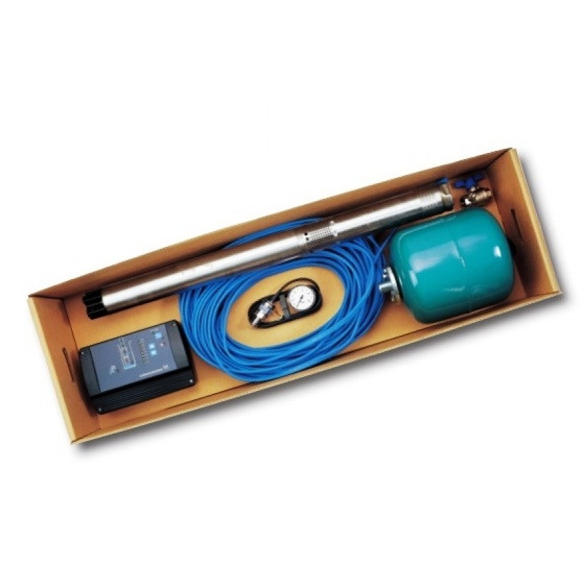 Потопяема сондажна помпа Grundfos SQE пакет