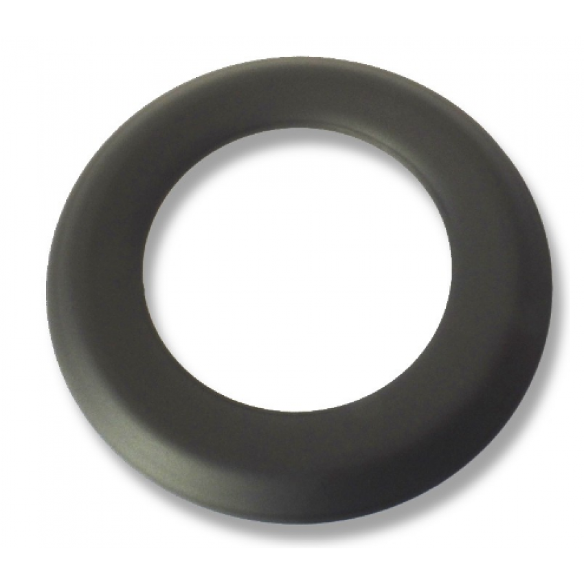 Черна неръждаема коминна розетка